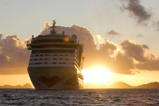 Schiffsposition & Webcam von AIDAluna // © AIDA Cruises