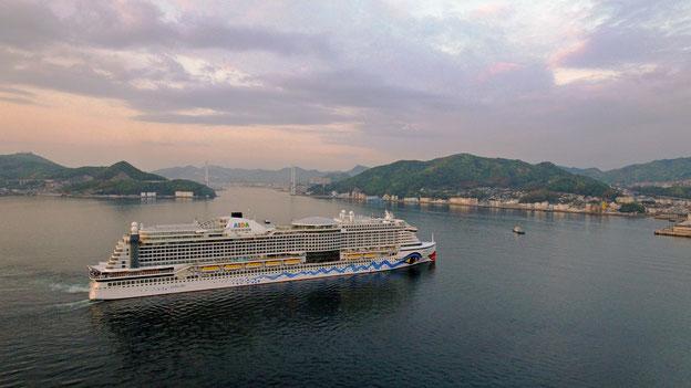 Schiffsposition & Webcam von AIDAperla // © AIDA Cruises