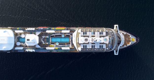 Mein Schiff 2 ist das ,,Designer-Schiff'' von TUI Cruises // © TUI Cruises