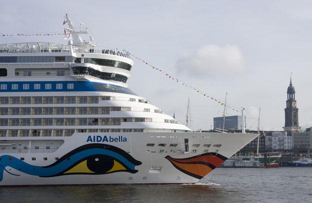 Schiffsposition & Webcam von AIDAbella // © AIDA Cruises