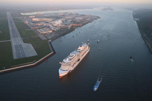 Schiffsposition & Webcam von AIDAprima // © AIDA Cruises