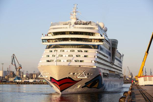 Schiffsposition & Webcam von AIDAsol // © AIDA Cruises