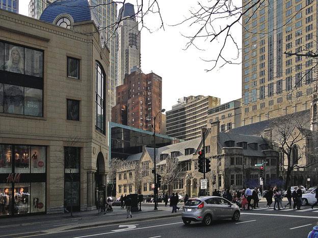 Kreuzung in der Stadt