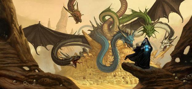 Uuh, qué vienen los dragones, uuh...