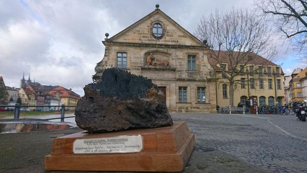 Ein seltener Anblick: Stalaktitisches Brauneisenerz Am Kranen in Bamberg © Simon Ernst