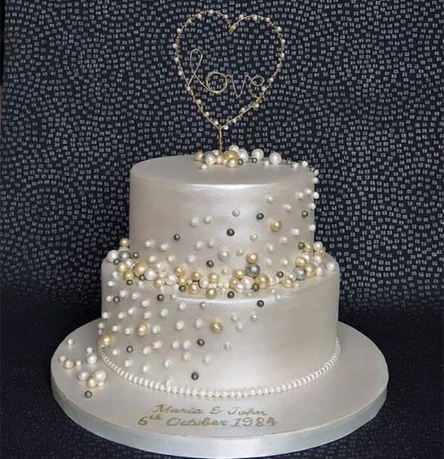 pastel chico para boda elegante