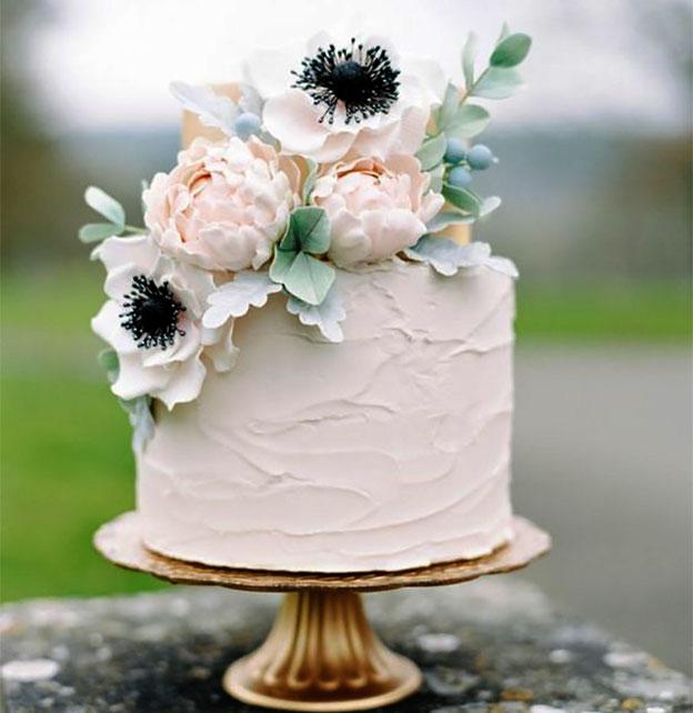 torta chica para boda elegante