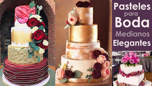 pasteles-para-boda-elegantes-tamaño-mediano