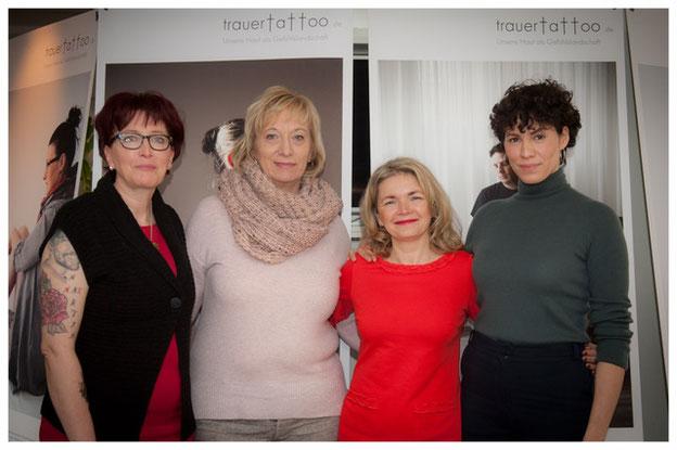 v.l.: Gabi Schulz, Martina Otto, Katrin Hartig & Jasmin Gerat