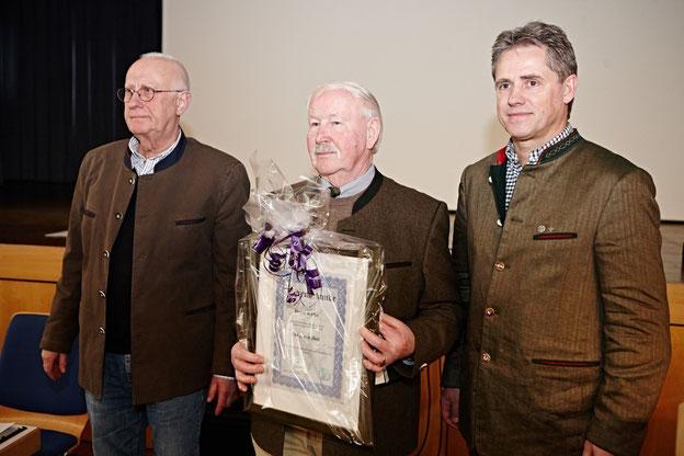 Neues Ehrenmitglied Horst Kuhn