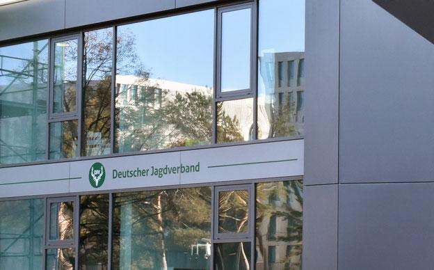 Die DJV-Geschäftsstelle auf der Chausseestraße in Berlin. Quelle: DJV
