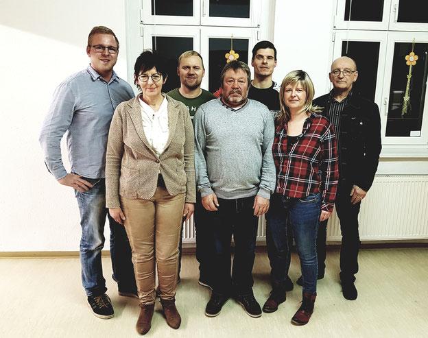 Sören Kalz, Christine Drogott, Stephan Behnke, Peter Richter, David Linke, Jana Beckmann, Michael Raband