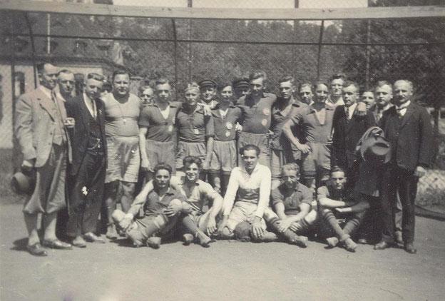 Bild: Wünschendorf Handballmannschaft 1934