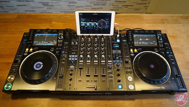 CDJ2000NXS2 und DJM900NXS2 von Pioneer