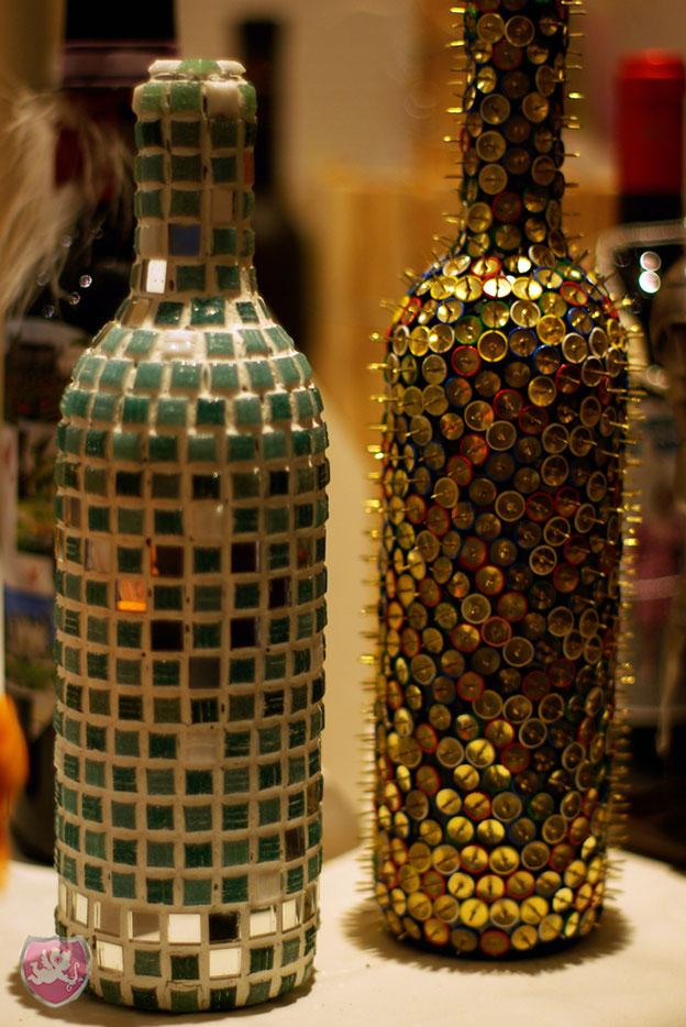originelle Weinflasche für Hochzeit