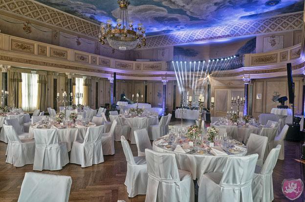 Romantik Hotel Sonne Küsnacht Hochzeit Saal DJ Benz