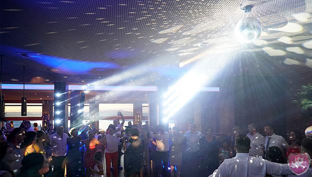 Restaurant Zafferano Feusisberg Resort Spa Party Hochzeit Heiraten Wedding DJ Benz