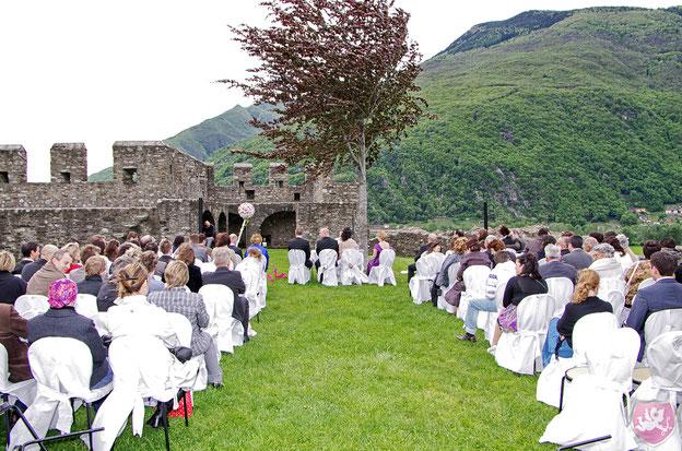 Hochzeit DJ Tessin Zeremonie