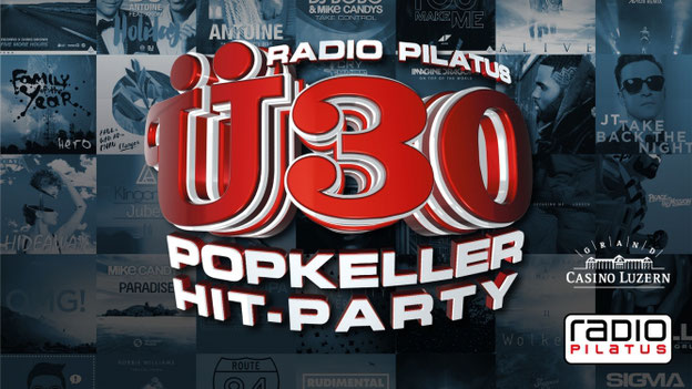 Radio Pilatus Ü30 Popkeller Party Casineum