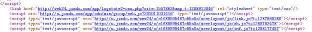 通过js调用方式布置阿里妈妈广告和3d标签云....续 - JS文件外链网盘与方法