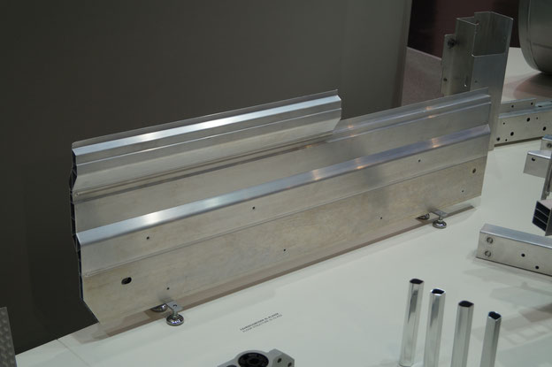 Friction stir welded aluminium panel by Riftec and HAI for the Mercedes SL - R231