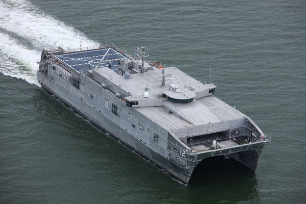 Friction stir welded USNS 'Newport' (T-EPF-12)