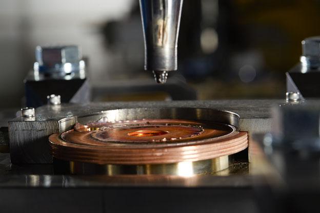 Rührreibschweißen von Rotoren für Hochleistungselektromotoren am Pacific Northwest National Laboratory (PNNL)