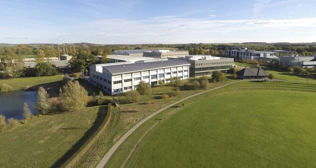 TWI Ltd (The Welding Institute) im Granta Park in Great Abington bei Cambridge