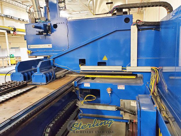 C shaped gantry of the FSW machine