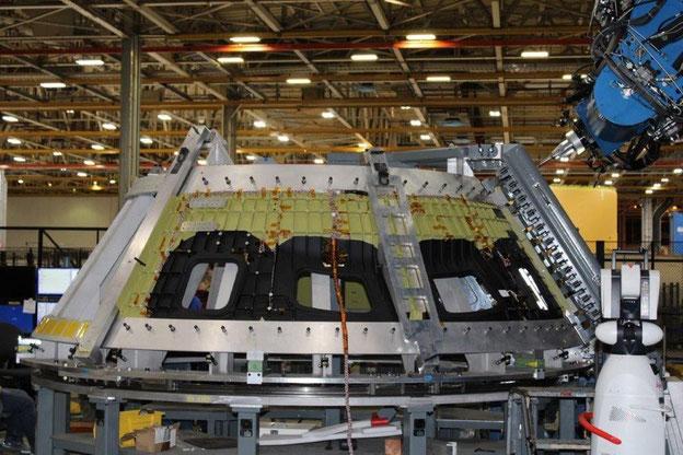 Die erste Rührreibschweißung des Orion-Raumschiffs wurde im Januar 2021 in NASA's Michoud Assembly Facility fertiggestellt