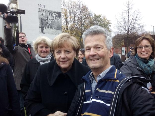Am 25. Jahrestag des Mauerfalls am 9.11.2014 in Berlin / Foto: privat