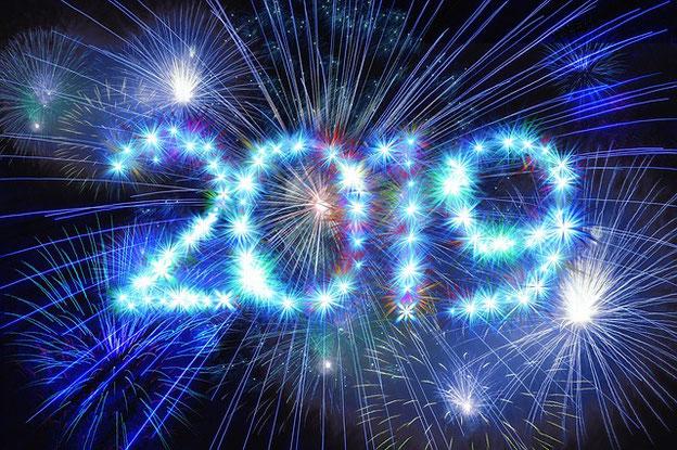 Prosit Neujahr 2019