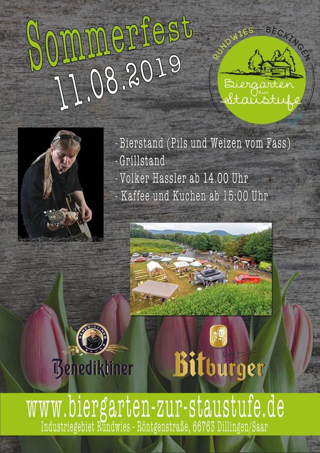 Sommerfest am 11.08.2019 ab 10:00Uhr
