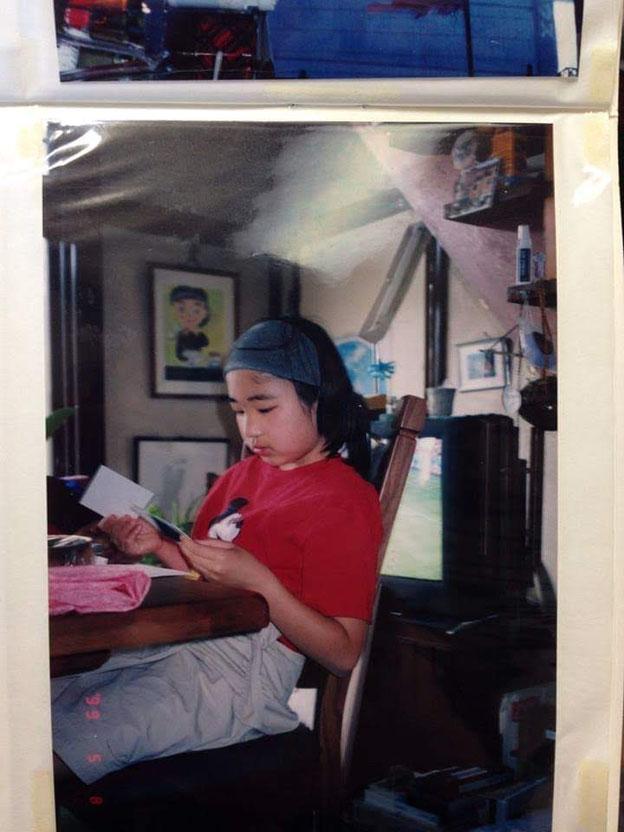 子どもの頃の筆者