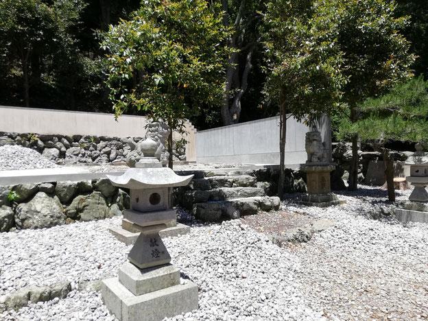 本殿の無い美多羅志神社