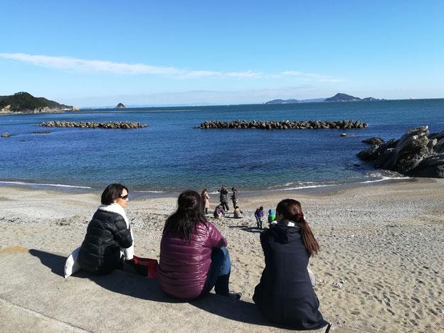 海と女子たち