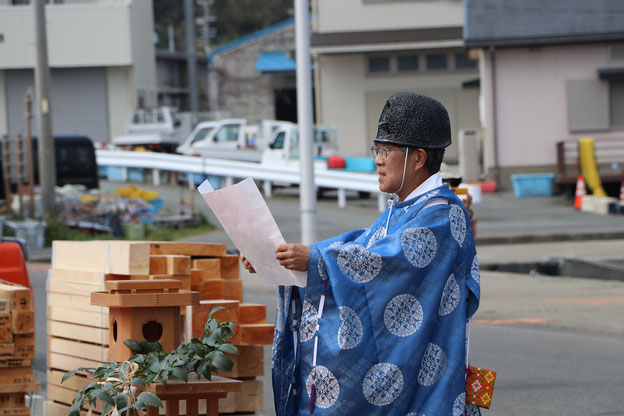 美多羅志神社宮司さん