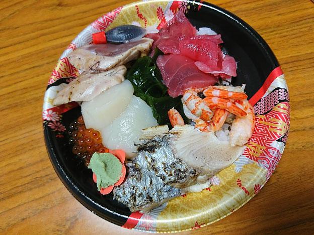 かねきんの海鮮丼