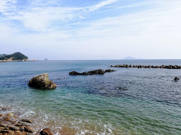 和具大間の景色(海)