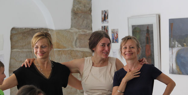 Katrin Süss, Gabi Keil und Nadja Göschel