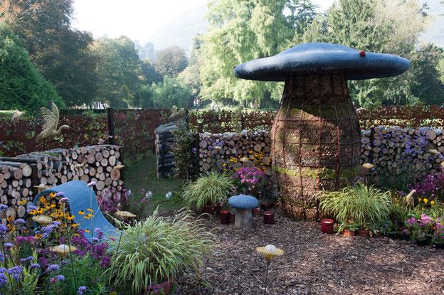 Le Centre du Labyrinthe : Chambre de la Biodiversité - Mise à l'honneur du compostage