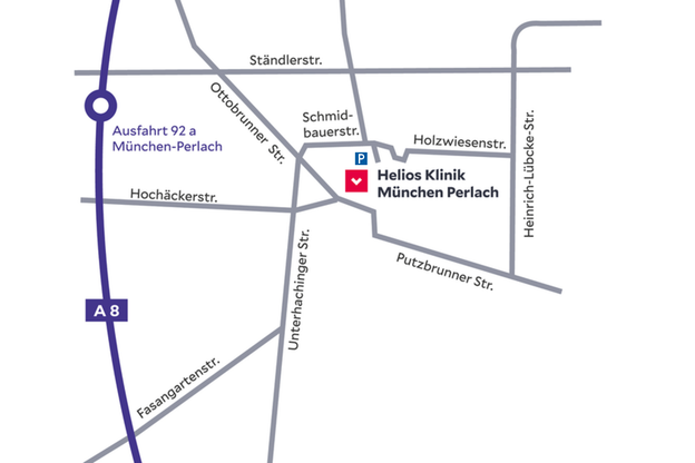 Wegbeschreibung zur Adipositas Selbsthilfegruppe (SHG) München Altperlach