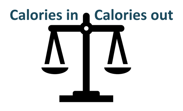 Calories in, calories out (energiebalans)