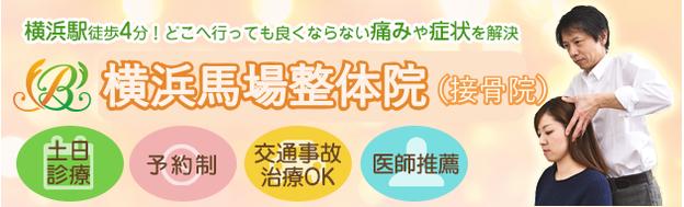 横浜馬場整体院の住所、電話番号、アクセス方法などの説明画像