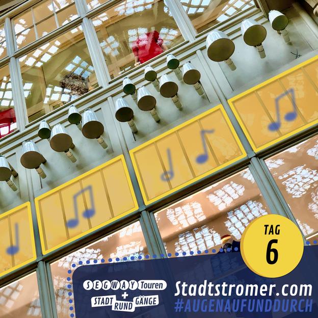 Glockenspiel in der Mädler-Passage Leipzig