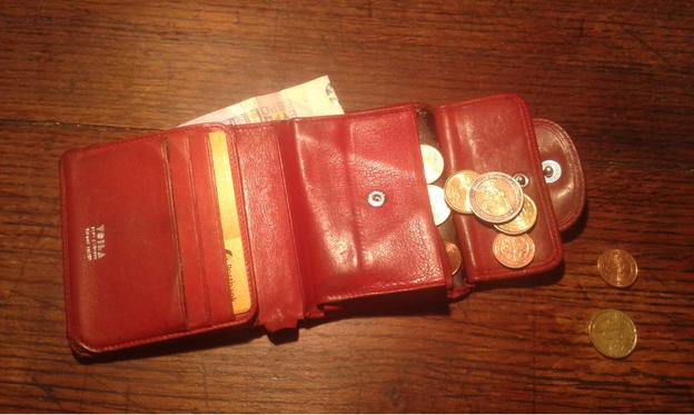Wie mir das Portemonnaie gestohlen wurde