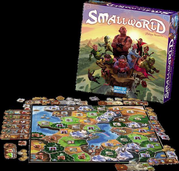 Smallworld - Spielmaterial