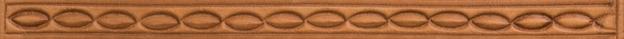 Bordertooling/Punzierung für Deuber-Sättel, Typ BT46