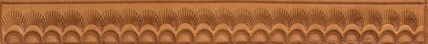Bordertooling/Punzierung für Deuber-Sättel, Typ BT1105