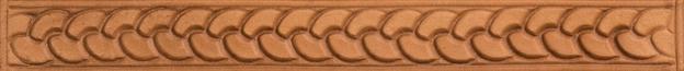 Bordertooling/Punzierung für Deuber-Sättel, Typ BT26